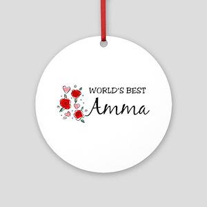 WB Mom [Tamil] Ornament (Round)